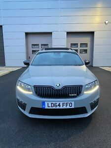 2014 SKODA OCTAVIA VRS 2.0 TDI 184 BHP 6 SPEED **FULLY LOADED**