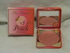 Too Faced 'Papa Don't Peach' Blush Ltd Ed Color Beautiful Peach Scent NIB