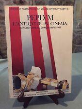 Cinéma - Péplum - L'antiquité au cinéma - Audiovisuel Val de Marne - B5