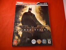 Batman Begins Nintendo Gamecube PS2 Xbox Strategy Guide Player's Hint Book