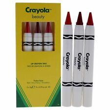 Lip Crayon Trio - Perfect Reds by Crayola for Women - 3 x 0.07 oz Lipstick