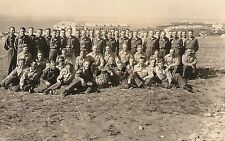WWII Original German Luftwaffe RP- Uniform- No Hats- Group Photo- Barracks- 1943
