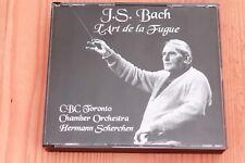 Bach - Art de la Fugue - Hermann Scherchen - Kenneth Gilbert - Boitier neuf 2 CD