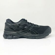 Asics Womens Gel Kayano 26 1012A457 Black Running Shoes Lace Up Low Top Size 8.5