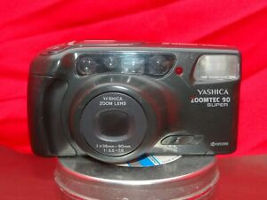Yashica Zoomtec 90 35mm Camera Bundle Film Tested Working Refurbished Warranty