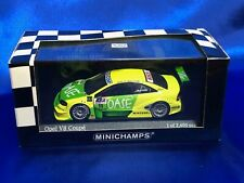 Minichamps 1/43 Opel V8 Coupe DTM 2001 Team Holzer #400 014111 Limited Tracking