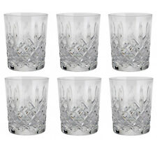 WATERFORD ARAGLIN #5493942100 DOUBLE OLD FASHIONED 12 OZ. SET OF 6 BNIB CRYSTAL