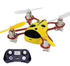 CHEER X1 2.4G 4CH 6-Axis GYRO Nano RC Quadcopter Mini UFO Drone for Kids Yellow