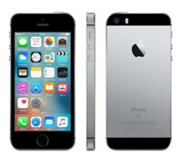 "Apple iPhone SE 4.0"" 64GB 4G LTE 12MP A1662 Verizon UNLOCKED Smartphone Black"