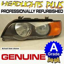 BMW X5 SERIES E53 (Early/Amber) Left Headlight 11/2000 to 10/2003 00 01 02 03