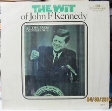 Vintage LP - The Wit of John F. Kennedy - a must for fans of the president?