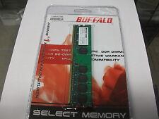 BRAND NEW BUFFALO PC2-5300U 512MB 667MHZ CL5  DESKTOP MEMORY
