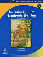 Longman INTRODUCTION TO ACADEMIC WRITING Level 3 THIRD ED | Oshima Hogue @NEW@