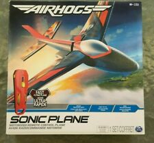 Air Hogs Sonic Plane High Speed Flyer with Real Motor Sounds RC Plane Toy