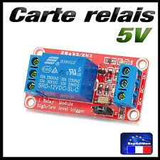 5186# carte 1 relais 5v low ou high trigger - projet Arduino raspberry...