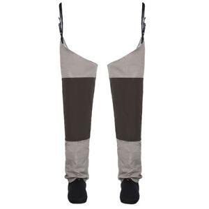Fly Fishing Waders Stocking foot Hip Breathable Thigh Waterproof Leg Pants Wader
