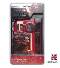 5Pcs STAR WARS Force Awakens NOTEBOOK STATIONERY SET Episode VII Kylo Kids Gift