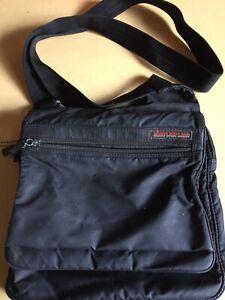 HEDGREN BLACK CROSS BODY SHOULDER BAG