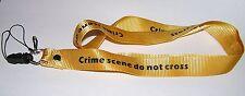 NCIS Crime Scene Tour de cou porte cles et p.badge Tour de cou scene de crime