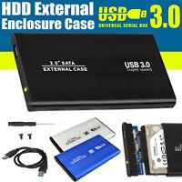 "USB 3.0 SATA 2.5"" Inch Hard Drive External Enclosure HDD Mobile Disk Box Case"