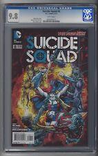 Suicide Squad #8 CGC 9.8 NM/M Harley Quinn cover DC Comics New 52 6/12 White