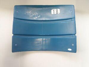 BRET SABERHAGEN AUTOGRAPH SIGNED SHEA STADIUM SEAT BACK WITH A JSA COA NICE LOOK