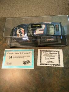 Rusty Wallace Miller Lite 600th consecutive start autographed