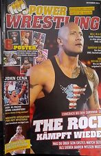 Power Wrestling November 11/2011 WWE WWF + 6 Poster (Hogan, Orton, Velvet Sky)