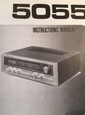 """Nikko 5055 Stereo Receiver """"Original"""" Owners Manual 6 Pages"""