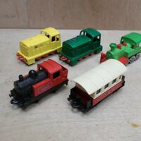 Matchbox Shunter x2 0-4-0 Steam Loco Coach Majorette Western Train Bundle Lot