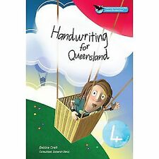 Oxford Handwriting For Queensland Revised Edition Book 4 By Debbie Croft