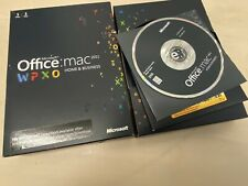 Microsoft Office for Mac 2011 Home and Business Word Excel Powerpoint Outlook