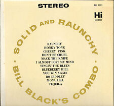 "BILL BLACK'S COMBO ""SOLID & RAUNCHY"" 60'S LP HI SHL 32003"