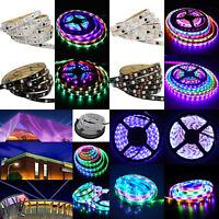 5M 5050 WS2811 RGB Dream Color Multicolor 150/300 LED Strip Light 30/M 60/M 12V