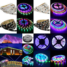 Ropewire ws2811 led stringstrip type string fairy lights ebay 5m 5050 ws2811 rgb dream color multicolor 150300 led strip light 30m aloadofball Image collections