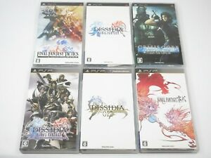 Final Fantasy Role Playing Game RPG Square Enix PSP PlayStation Portable Japan