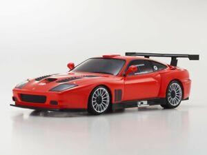 KYOSHO AUTOSCALE MINI-Z FERRARI 575 GTC ROT (W-RM) Karosserie Body MZP338R