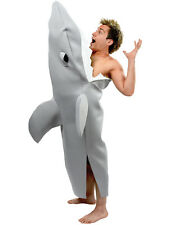 Shark Attack Bite Jaws Film Adult Fancy Dress Beach Hawaiian Party Fun Costume