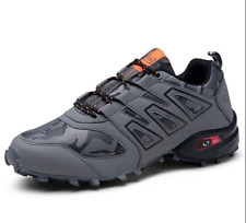 2a2f053b4e36a6 US9 Mens Breathable Athletic Outdoor Running hiking Breathable Sneakers Gray