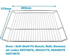 NEFF Grill Oven Shelf part number 00574876 00434175 00440579