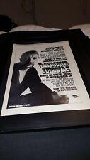 Raymond Lefevre Rare Original Riviera Records Promo Poster Ad Framed!