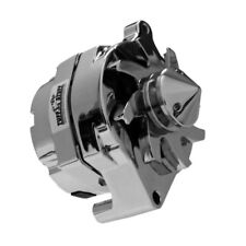 Tuff Stuff Alternator 7068BBULL; Smooth Back 100 Amp Polished for 1961-85 Ford