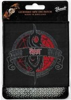 Official Licensed Merch Woven Sew-on PATCH Heavy Metal Rock SLIPKNOT Crest