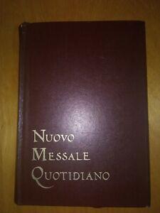 NUOVO MESSALE QUOTIDIANO 1984 Marietti P. Paolino Beltrame Quattrocchi Chiesa