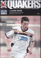 2011/12 DARLINGTON V LUTON TOWN 13-03-2012 Blue Square Bet Premier