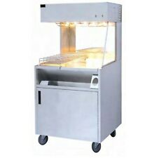 More details for electric chip scuttle french fries bagging worker station dump storage cupboard