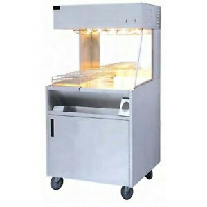 Electric Chip Scuttle French Fries Bagging Worker Station Dump Storage Cupboard