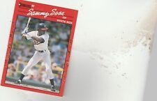 FREE SHIPPING-MINT-1990 Donruss #489 Sammy Sosa CHICAGO White Sox ROOKIE-3