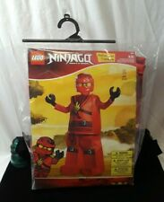 Lego Ninjago Halloween Costume Minifig Tunic Pants Mask & Hands S/P 4-6