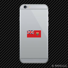 Manitoba Flag Cell Phone Sticker Mobile Die Cut Canada mb province